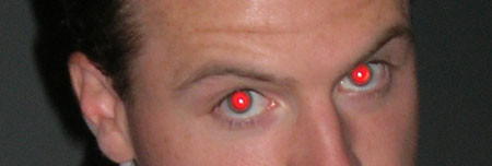 Red eye photo