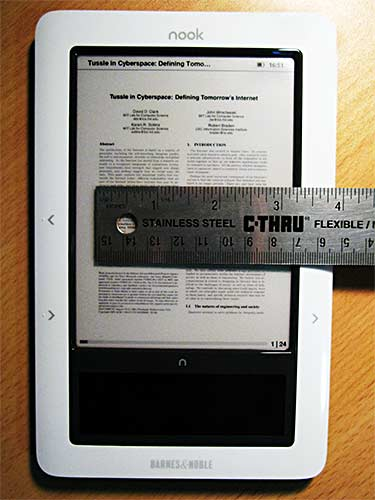 PDF shrunk to fit nook screen